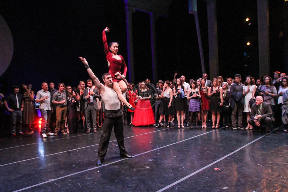 Pacific Northwest Ballet Young Patron's Circle Black Swan Soiree. SANCA performance.