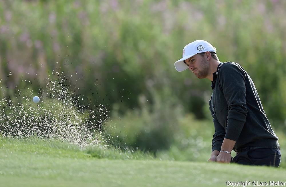 DK Caption:<br /> 20140815, Aars, Danmark:<br /> Made in Denmark Golf. 2. runde: Andreas Hart&oslash; (DEN)<br /> Foto: Lars M&oslash;ller<br /> UK Caption:<br /> 20140815, Aars, Denmark:<br /> Made in Denmark Golf.  2nd round: Andreas Hart&oslash; (DEN)<br /> Photo: Lars Moeller