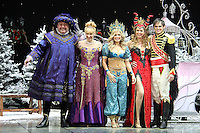 Cliff Parisi; Anita Dobson; Melinda Messenger; Claire Sweeney; Gareth Gates First Family Entertainment Pantomime photocall, Piccadilly Theatre, London UK, 26 November 2010: piQtured Sales: Ian@Piqtured.com +44(0)791 626 2580 (picture by Richard Goldschmidt)