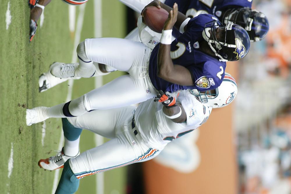 2003 NFL Week 11 Baltimore Ravens @ Miami Dolphins