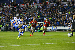 Goal, Yann Kermorgant of Reading scores from the penalty spot, Reading 1-0 Fulham - Mandatory by-line: Jason Brown/JMP - 16/05/2017 - FOOTBALL - Madejski Stadium - Reading, England - Reading v Fulham - Sky Bet Championship Play-off Semi-Final 2nd Leg