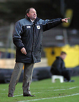 Photo: Paul Thomas.<br /> Port Vale v Bristol City. Coca Cola League 1. 17/12/2005.<br /> <br /> Bristol manager Gary Johnson.