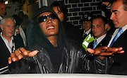 16.OCTOBER.2007. LONDON<br /> <br /> A WORSE FOR WEAR GRACE JONES PLAYING UP TO THE CAMERAS AFTER LEAVING ANNABELLS CLUB MAYFAIR FOR THE PREVIEW OF KATE'S NEW TOP SHOP CLOTHING LINE.<br /> <br /> BYLINE: EDBIMAGEARCHIVE.CO.UK<br /> <br /> *THIS IMAGE IS STRICTLY FOR UK NEWSPAPERS AND MAGAZINES ONLY*<br /> *FOR WORLD WIDE SALES AND WEB USE PLEASE CONTACT EDBIMAGEARCHIVE - 0208 954 5968*
