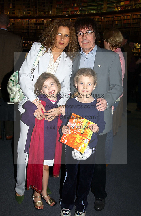 BILL & SUZANNE WYMAN and their daughters JESSE and MATILDA at a party to celebrate the publication of Treasure Islands - Britain's History Uncovered by Bill Wyman and Richard Havers held at The British Museum, London on 21st March 2005.<br /><br />NON EXCLUSIVE - WORLD RIGHTS