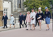 Royals Attend Easter Service 2015