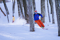 Skiing at Wintergreen resort in Virginia's Bluedrige Mountains Skiing and snowboarding in Virginia. In the Blue Ridge mountains
