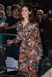 Kate Nash outside the BBC's Wogan House following an appearance on Radio 2. London, June 15 2018.