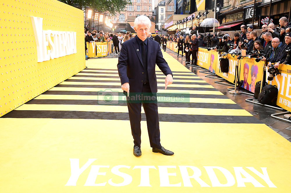 Richard Curtis attending the Yesterday UK Premiere held in London, UK.