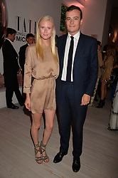 Emma Weaver and Freddie Coleridge at the Tatler's English Roses 2017 party in association with Michael Kors held at the Saatchi Gallery, London England. 29 June 2017.<br /> Photo by Dominic O'Neill/SilverHub 0203 174 1069 sales@silverhubmedia.com