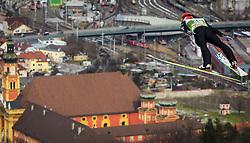 03.01.2013, Bergisel Schanze, Innsbruck, AUT, FIS Ski Sprung Weltcup, 61. Vierschanzentournee, Training, im Bild Lauri Asikainen (FIN) // Lauri Asikainen of Finland during practice Jump of 61th Four Hills Tournament of FIS Ski Jumping World Cup at the Bergisel Schanze, Innsbruck, Austria on 2013/01/03. EXPA Pictures © 2012, PhotoCredit: EXPA/ Juergen Feichter