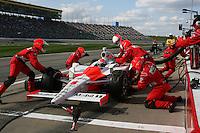 Ryan Briscoe, Road Runner Turbo Indy 300, Kansas Speedway, Kansas City, KS USA 27/4/08