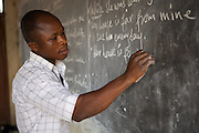 Elisha Ayibasiya is a teacher at Tonga Junior High School, Ghana.