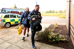 Jack Lam of Bristol Rugby arrives at Castle Park for the fixture against Doncaster Knights - Mandatory by-line: Robbie Stephenson/JMP - 02/12/2017 - RUGBY - Castle Park - Doncaster, England - Doncaster Knights v Bristol Rugby - Greene King IPA Championship