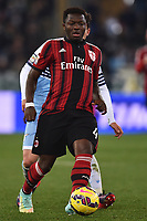 Sulley Muntari Milan <br /> Roma 24-01-2015 Stadio Olimpico, Football Calcio Serie A Lazio - Milan. Foto Andrea Staccioli / Insidefoto