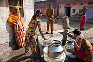 India: Barefoot College helps to train rural Indians to test wells to make sure that water is safe to drink.