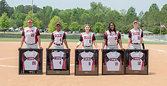 2017 NC Central Softball vs NC A&T (Senior Day)