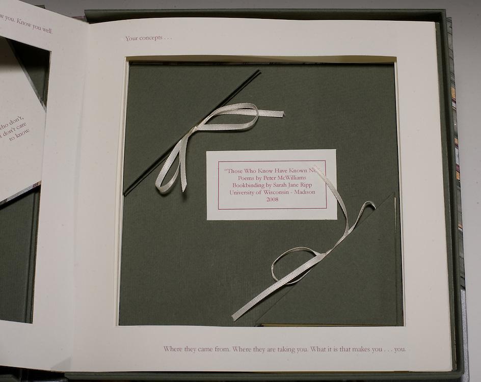 Artist: Sarah Jane Ripp.Six books inside a clamshell box.