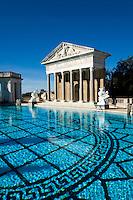 Neptune Pool at Hearst Castle, San Simeon, California