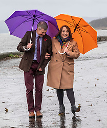 Pictured: Willie Rennie and Christine Campbell<br />