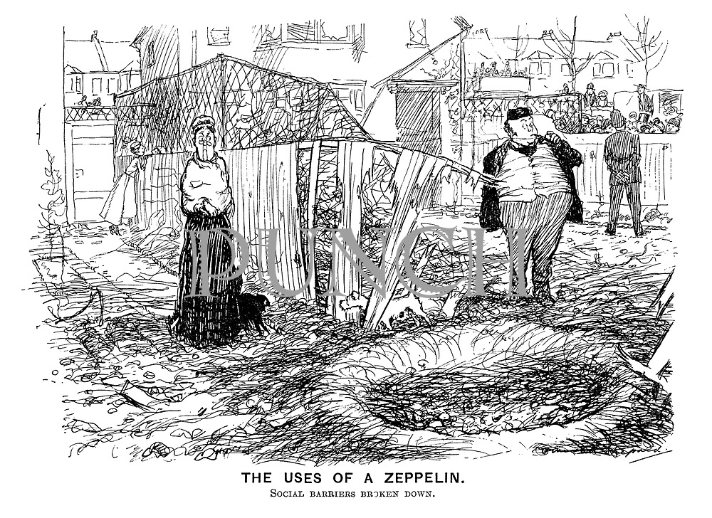 The Uses of a Zeppelin. Social barriers broken down.