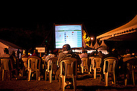 At Bomas of Kenya, where the ballots were securly being counted, live television broadcasts of preliminary results were broadcast on an enormous screen. The is the first election in Kenya where results are being broacasted in real-time to citizens, in a hope of offering greater transparancy in the electoral process.