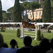 Roma 24/05/2018 Piazza di Siena<br /> 86 CSIO Piazza di Siena<br /> Il percorso di gara con il pubblico