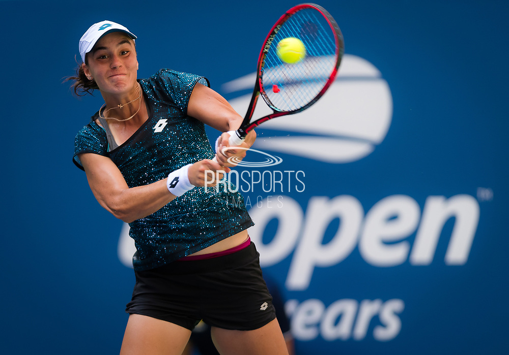 Anhelina Kalinina of the Ukraine in action during her second-round match at the 2018 US Open Grand Slam tennis tournament, at Billie Jean King National Tennis Center in Flushing Meadow, New York, USA, August 29th 2018, Photo Rob Prange / SpainProSportsImages / DPPI / ProSportsImages / DPPI