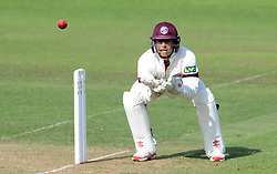 Somerset's Michael Bates - Photo mandatory by-line: Harry Trump/JMP - Mobile: 07966 386802 - 14/06/15 - SPORT - CRICKET - LVCC County Championship - Division One - Day One - Somerset v Nottinghamshire - The County Ground, Taunton, England.