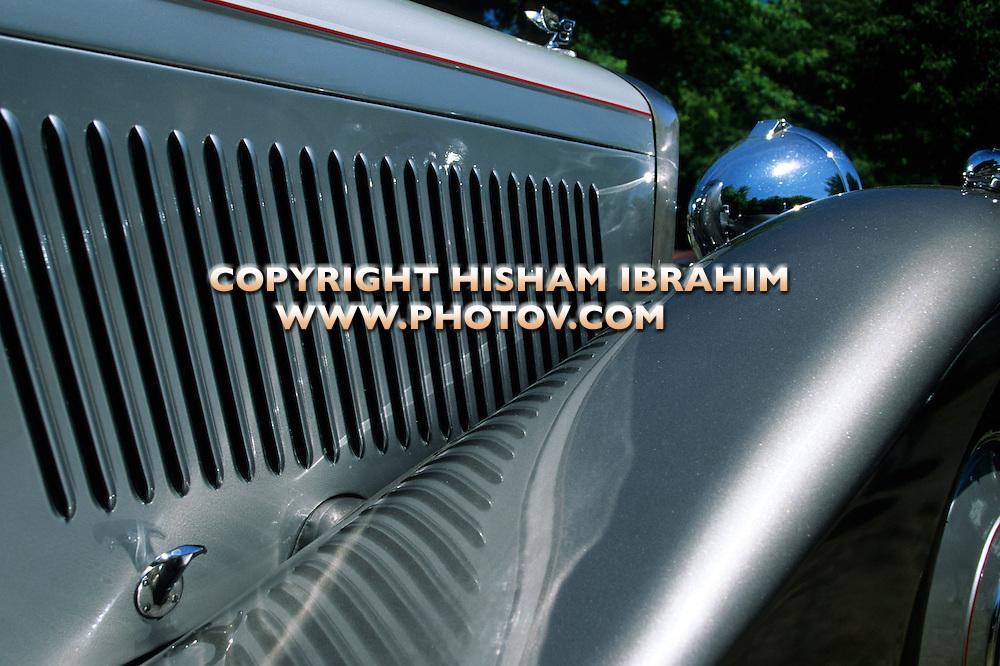 Rolls Royce Antique Classic British Car