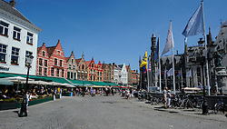 Grote Markt, Bruges, Belgium<br /> <br /> (c) Andrew Wilson | Edinburgh Elite media