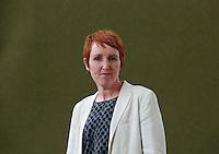 Catherine O'Flynn<br /> Edinburgh International Book Festival 2014 photos taken in Charlotte Square Gardens. Edinburgh. Pako Mera 11/08/2014