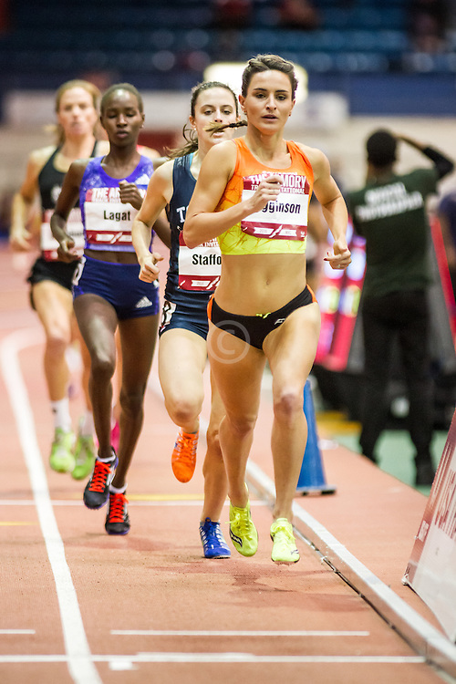 Ashley Higginson, Suacony, womens Mile, Armory Track Invitational Indoor, Saucony