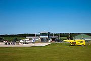 Nederland, Zeeland, Zuid-Beveland, 12-06-2009; Arnemuiden, Zeeland Airport,  Vliegveld Midden-Zeeland (EHMZ) .Swart collectie, luchtfoto (25 procent toeslag); Swart Collection, aerial photo (additional fee required).foto Siebe Swart / photo Siebe Swart
