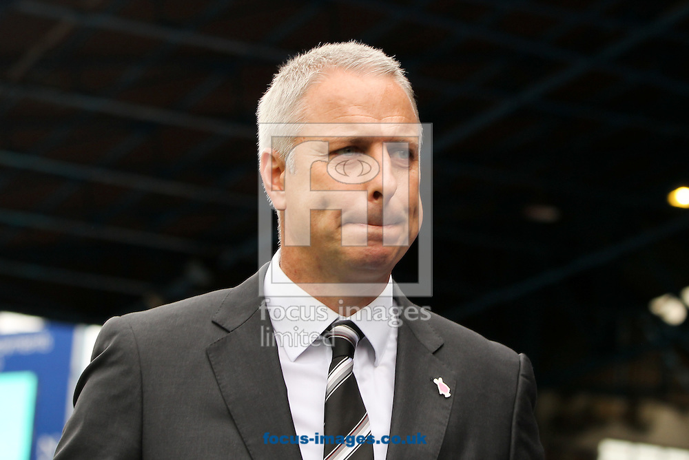 Fulham manager Kit Symons during the Sky Bet Championship match at St Andrews, Birmingham<br /> Picture by Tom Smith/Focus Images Ltd 07545141164<br /> 27/09/2014