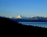 Lake Pukaki and Mount Cook,  southisland, new zealand.1999