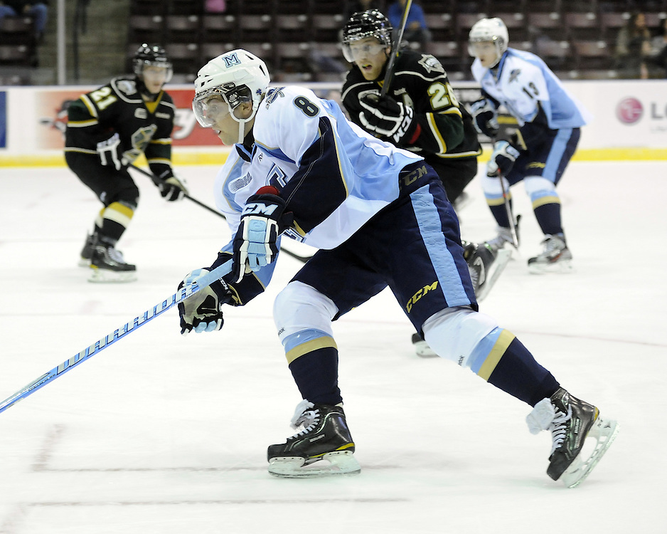 Derek Schoenmakers of the Mississauga St. Michael's Majors. Photo by Aaron Bell/OHL Images