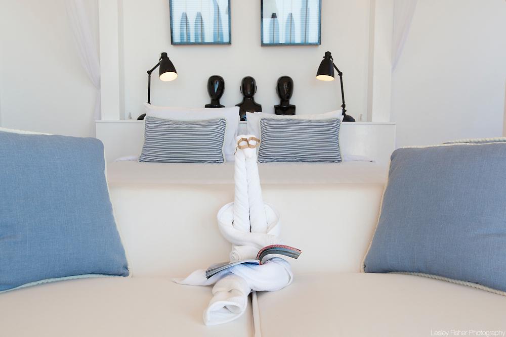 Double bedroom at Villa Belle a Luxury, private villa on Koh Samui, Thailand
