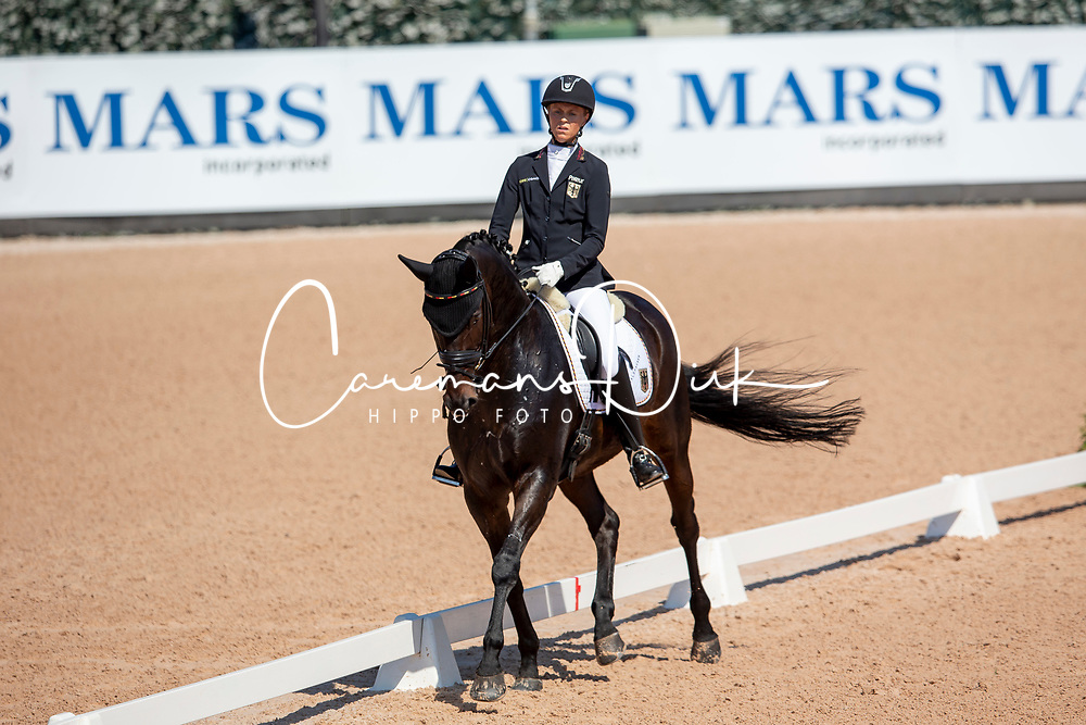 Mispelkamp Regine, GER, Look At Me Now<br /> World Equestrian Games - Tryon 2018<br /> © Hippo Foto - Sharon Vandeput<br /> 22/09/2018