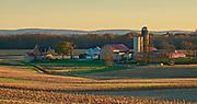 Autumn, Farms, Oley Valley, Berks County, PA