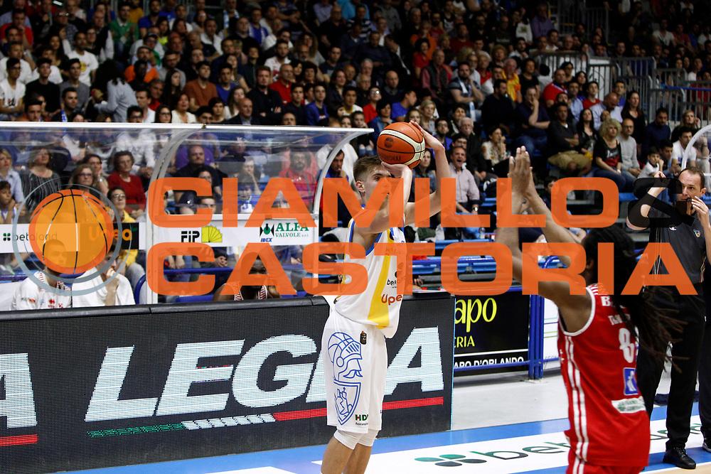 Mario Ihring<br />Betaland Capo D'Orlando - Consultinvest Pesaro<br />Lega Basket Serie A 2016/2017 <br />Capo D'Orlando 07/05/2017<br />Foto Ciamillo-Castoria