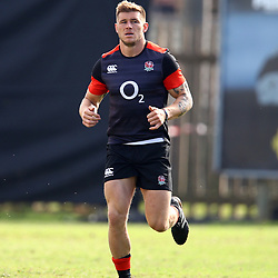 Jason Woodward of England during the England Rugby training session at  Jonsson Kings Park Stadium,Durban.South Africa. 19,06,2018 Photo by (Steve Haag JMP)