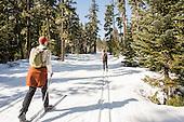 Teacup Lake Skiing