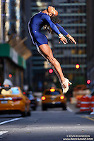 Dance As Art New York City Photography Project Midtown Manhattan with dancer, Kevin Mimms