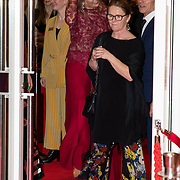 NLD/Amsterdam/20200206 - Ballet premiere Frida, Koningin Maxima bezoekt de premiere Frida