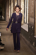 Chanel Haute Couture second show. Lycee Buffon. Paris. 10 July 2001. © Copyright Photograph by Dafydd Jones 66 Stockwell Park Rd. London SW9 0DA Tel 020 7733 0108 www.dafjones.com