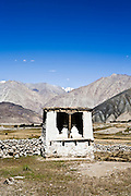 Shrine on the way to the Nubra valley.
