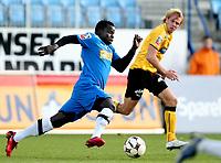 Fotball , 10. oktober 2008 , Adeccoligaen , 1. divisjon , Sandefjord - Moss 3-1<br /> Malick Mane , Sandefjord