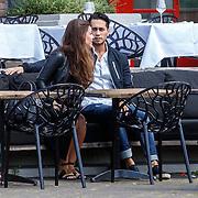 NLD/Amsterdam/20150607 - Jamie Faber met haar nieuwe partner,