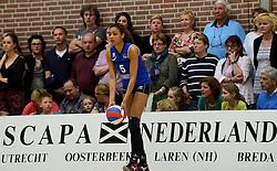 12-04-2014 NED: Finale vv Alterno - Sliedrecht Sport, Apeldoorn<br /> Alterno pakt het kampioenschap door Sliedrecht voor de derde maal te verslaan / Celia Diemkoud