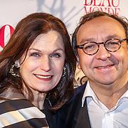 NLD/AmsterdLiz Snam/20160118 - Beau Monde Awards 2016, Liz Snoijink en Jon van Eerd
